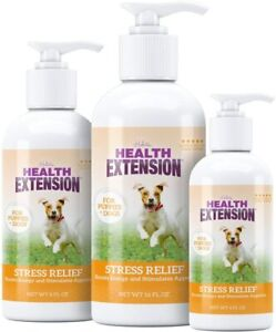 Health Extension Stress Relief Tasty Liquid Supplement for Dogs