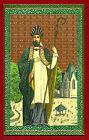 SANTINO SANT'ARNOLFO di SOISSONS IMAGE PIEUSE - HOLY CARD- Heiligenbild