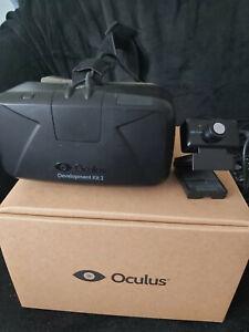 Oculus Rift DK 2 VR-Headset Virtual-Reality-Headset mit komplettem Zubehör