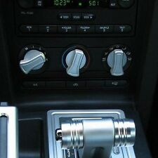 Satin A/C Knob Covers - 2005 - 2009 Mustangs