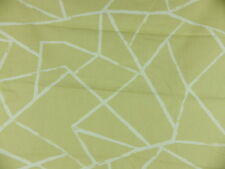 Abstract Curtain Cushion Fabric 5 Large Off Cut Remnants Bundle soft yellow