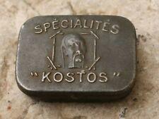 boite spécialités kostos pour ancien matériel de pêche