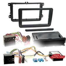 VW POLO 6R 09-14 1-Din Car Radio Installation Set Canbus Adapter RADIO FACEPLATE