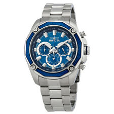 Invicta Aviator Chronograph Blue Dial Mens Watch 22804