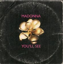 CD SINGLE 3 TITRES--MADONNA--YOU'LL SEE--1995