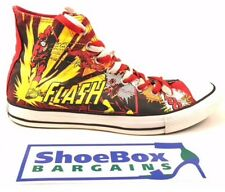 "Converse Chick Taylor All Star Men's Red ""Flash"" DC Comics Sneakers Size 10"