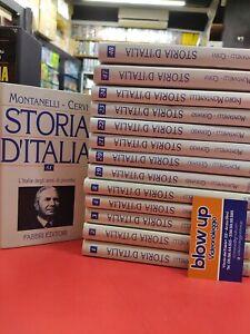 STORIA D'ITALIA MONTANELLI - 14 volumi vendibili anche separatamente