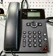 Used Polycom VVX150 VoIP Desktop Telephone (No Power Adapter)