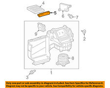 TOYOTA OEM Heater-Filter Cover Plate 8889907010