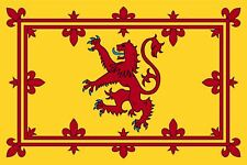 Large SCOTLAND RAMPANT RED LION FLAG Sport Scottish Rugby Supporters Fans 3x5FT