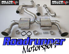 """Milltek Focus RS MK2 3"""" Stainless Turbo Back Exhaust System Res De Cat Downpipe"""