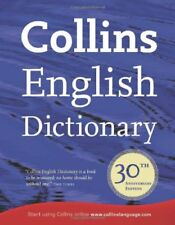Collins English Dictionary: 30th Anniversary Edition (Dictionary)-Collins UK