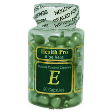 Aloe Vera & Vitamin E Skin Oil, 90 Green Capsule, FRESH, Made In USA, FREE SHIP