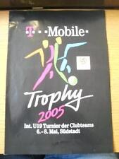 06/08/2005 At Admira Wacker: International Youth Tournament Programme, Including
