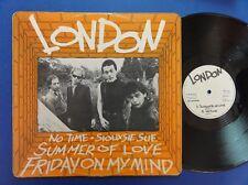 LONDON NO TIME SUMMER OF LOVE mca 77 UK 12inch p/s 45 NEX