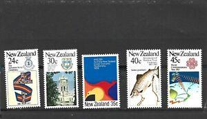 New Zealand 1983 Anniversaries Set MNH
