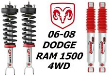 Rancho Front Quicklift Struts &RS9000XL Rear Shocks For 06-08 Dodge Ram 1500 4WD