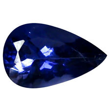 1.34 ct AAA Amazing Pear Shape (10 x 6 mm) Blue Iolite Natural Loose Gemstone