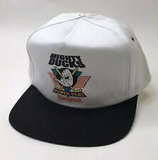 Vintage Mighty Ducks Power Play at Disneyland Snapback Cap Retro NHL Hockey Hat