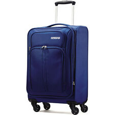 "American Tourister Splash Spin LTE 20"" Blue Spinner Luggage"