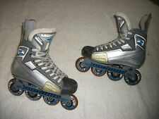 Mission Bsx Roller Hockey Blades Inline Skates Adult Size 5 E Nice Used Shape