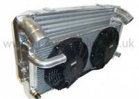 Ford Escort Mk1 Mk2 YB Cosworth Airtec Alloy Intercooler Radiator Fans Kit