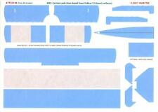 Aviattic Decals 1/32 WWI GERMAN PALE BLUE DOPED LINEN FOKKER F.1 LOWER SURFACES
