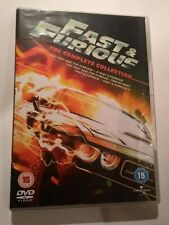*Fast & Furious - The Complete Collection 1 to 5 DVD Movie Box Set -