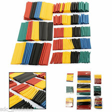 100 Pcs Heat Shrink Car Electrical Wire Tubing Tube Sleeving Wrap Cable Kit