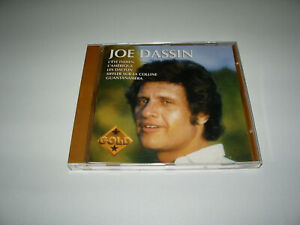 CD ALBUM JOE DASSIN COMPILATION GOLD 15 TITRES 1994 SONY MUSIC