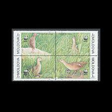 Moldova, Sc #370, Mnh, 2001, Wwf, Crex Crex, Bird, A5Gddcx
