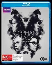 Orphan Black : Series 4 (Blu-ray, 2016, 3-Disc Set)