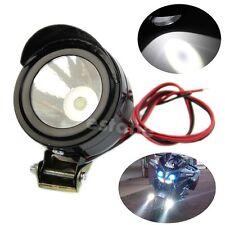 Universal 12V Electric Motorcycle Lamp LED Fog Spot White Light Headlight