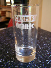 CAMPARI Arancione Vetro 1980s? pub home bar mancave