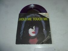 """PAUL STANLEY - Hold Me Touch Me - 1978 UK 7"""" single pressed on Purple Vinyl"""