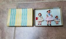 ANTIQUE 1940's Dollhouse Dolls Germany USSR Occupied Ultra RARE NRFB