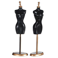 Clothes Dress Gown Outfit Mannequin Model Stand Holder Display for Barbie Doll H