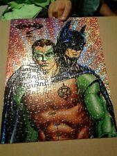 VINTAGE 1990's BATMAN FOREVER  MILTON BRADLEY  200 PIECE PUZZLE  NICE LOOK