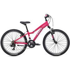 Niñas MTB 24 Pulgadas Bicicleta de Montaña Fuji Dynamite 24 Comp G Junior Fucsia