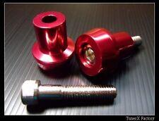 8MM RED CNC Swingarm Sliders Spools Suzuki GSX650F GSX-S1000F 750 GSXR1000 1100