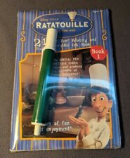 2007 Ratatouille 2 In 1 Magic Pen Painting And Invisible Ink Book No Full Seal