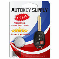 Replacement for Toyota Corolla 2014 2015 2016 2017 2018 2019 Remote Key Fob