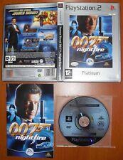 Jasmes Bond 007: Nightfire (Night Fire) EA, PlayStation 2 PS2 PStwo, Pal-España