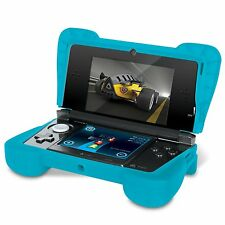 NEW Blue Dreamgear Comfort Grip Silicone Protective Case for Old Nintendo 3DS