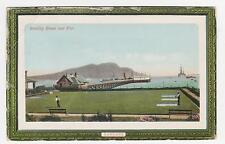 Lamlash,Scotland,U.K.Bowling Green & Pier,North Ayrshire,Used,1911