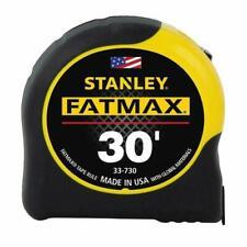 "STANLEY FATMAX 30' TAPE MEASURE #33-730  1 1/4""X30FT  FATMAX  BRAND NEW"