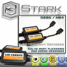 PAIR LED Headlight Canbus Error Free Anti Flickering Resistor Decoder - 9006 HB4