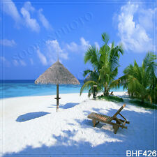 Beach 10'x10' Computer/digital Vinyl Scenic Photo Background Backdrop BHF426
