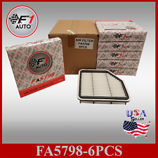 FA5798 (6pk) PREMIUM ENGINE AIR FILTER for 07-11 GS350 06-13 IS250 & IS350 V6