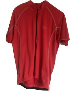 Gore Red Cycling Jersey Top - Size XL